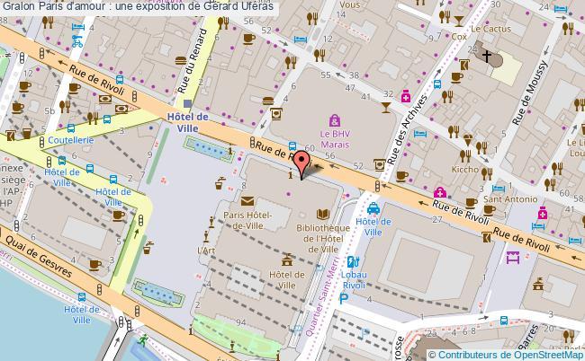 plan Paris D'amour : Une Exposition De Gérard Uféras