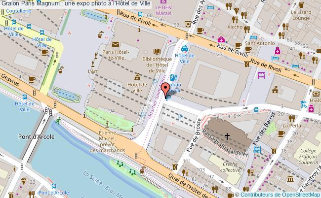 plan Paris Magnum : Une Expo Photo à L'hôtel De Ville