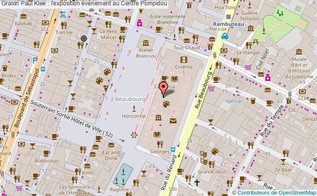 plan Paul Klee : L'exposition événement Au Centre Pompidou