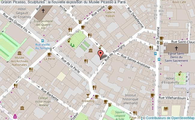 plan Picasso, Sculptures : La Nouvelle Exposition Du Musée Picasso à Paris