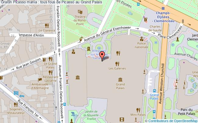 plan Picasso Mania : Tous Fous De Picasso Au Grand Palais