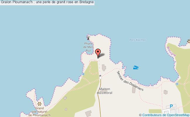 plan Ploumanac'h : Une Perle De Granit Rose En Bretagne