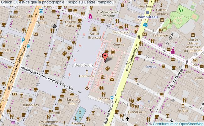 plan Qu'est-ce Que La Photographie : L'expo Au Centre Pompidou