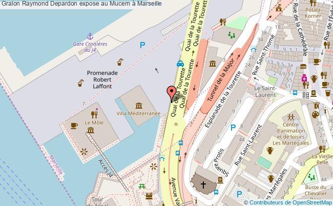 plan Raymond Depardon Expose Au Mucem à Marseille