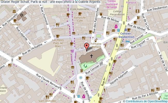 plan Roger Schall, Paris La Nuit : Une Expo Photo à La Galerie Argentic