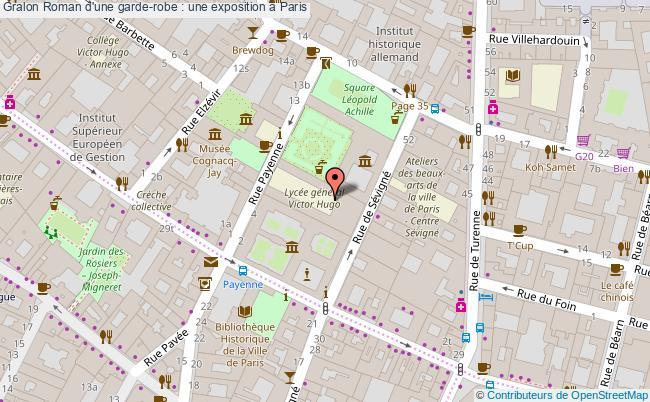 plan Roman D'une Garde-robe : Une Exposition à Paris