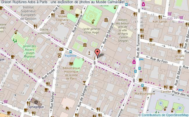 plan Ruptures Ados à Paris : Une Exposition De Photos Au Musée Carnavalet