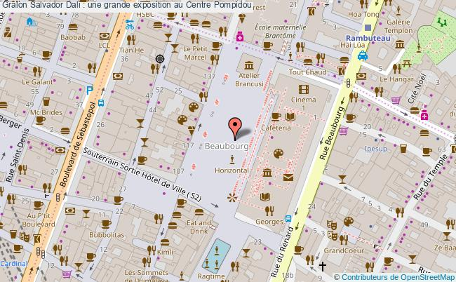 plan Salvador Dali : Une Grande Exposition Au Centre Pompidou