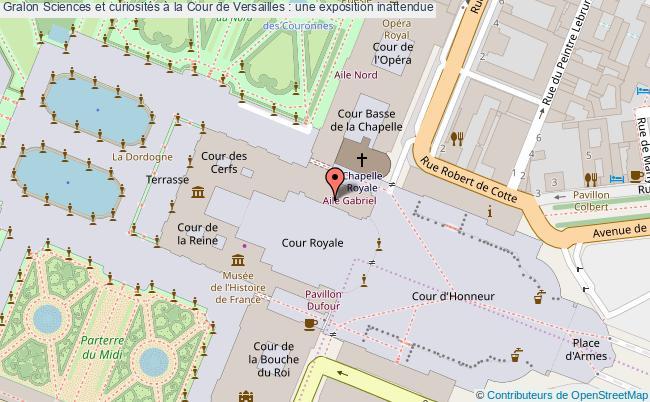plan Sciences Et Curiosités à La Cour De Versailles : Une Exposition Inattendue