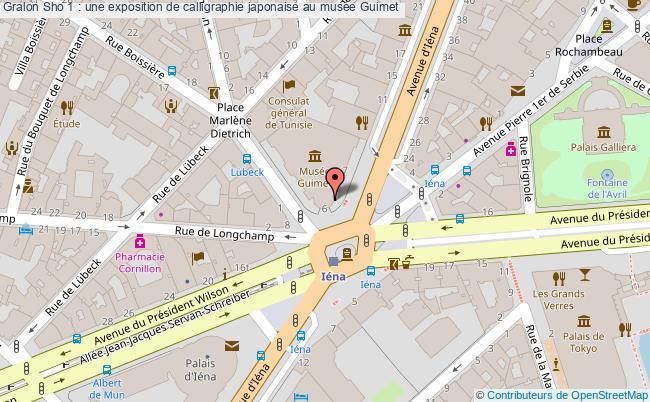 plan Sho 1 : Une Exposition De Calligraphie Japonaise Au Musée Guimet