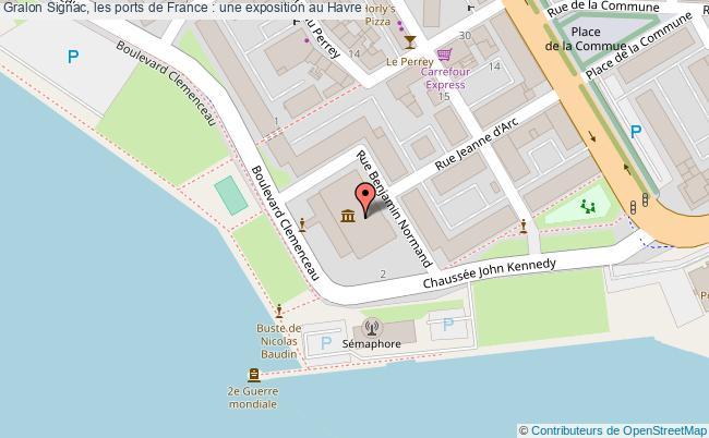 plan Signac, Les Ports De France : Une Exposition Au Havre