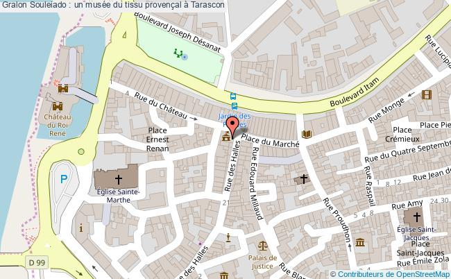 plan Souleiado : Un Musée Du Tissu Provençal à Tarascon
