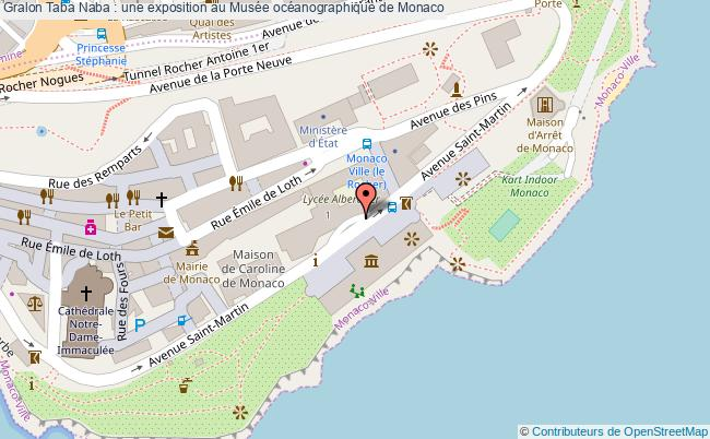 plan Taba Naba : Une Exposition Au Musée Océanographique De Monaco