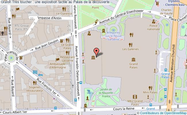plan Très Toucher : Une Exposition Tactile Au Palais De La Découverte