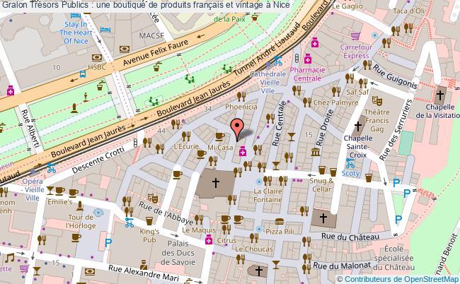 plan Trésors Publics : Une Boutique De Produits Français Et Vintage à Nice