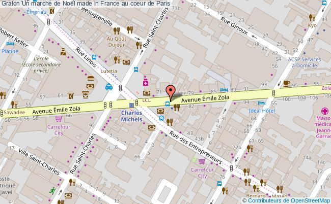 plan Un Marché De Noël Made In France Au Coeur De Paris