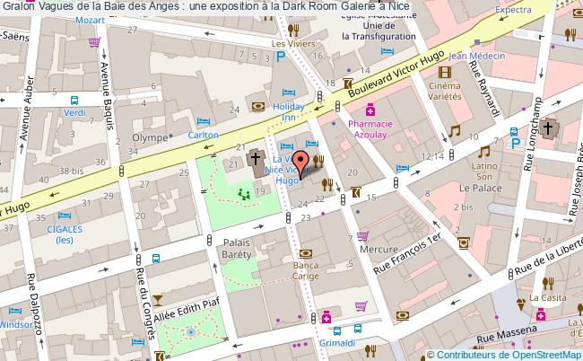 plan Vagues De La Baie Des Anges : Une Exposition à La Dark Room Galerie à Nice