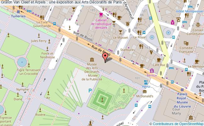 plan Van Cleef Et Arpels : Une Exposition Aux Arts Décoratifs De Paris