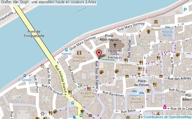 plan Van Gogh : Une Exposition Haute En Couleurs à Arles