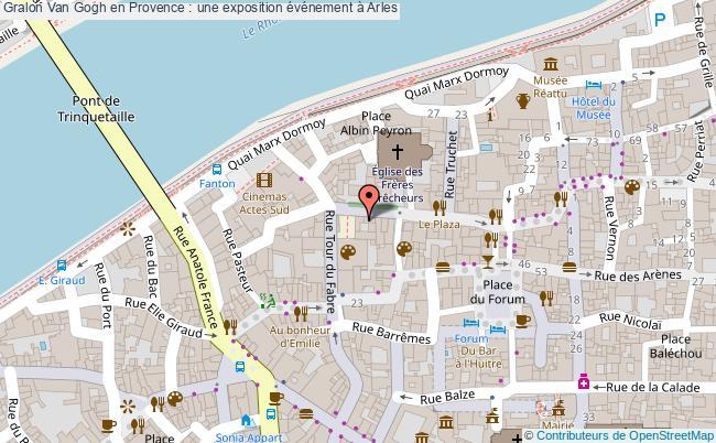 plan Van Gogh En Provence : Une Exposition événement à Arles
