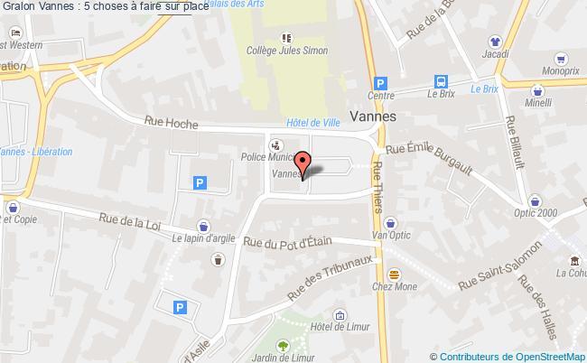 plan Vannes : 5 Choses à Faire Sur Place