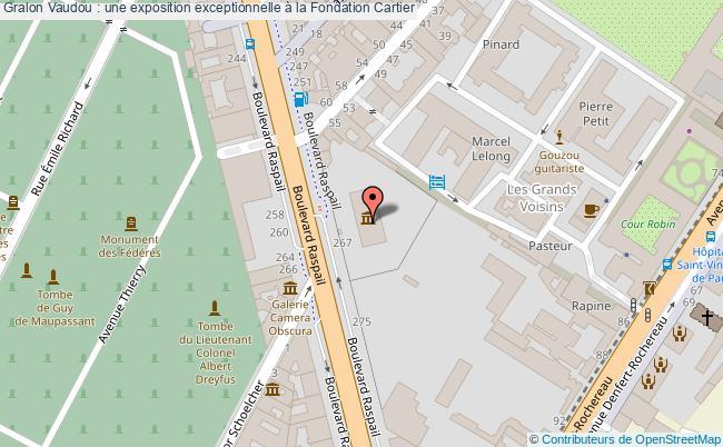 plan Vaudou : Une Exposition Exceptionnelle à La Fondation Cartier