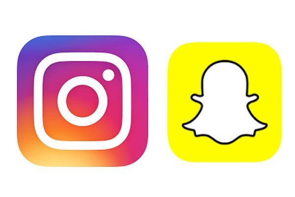 logo snapchat instagram