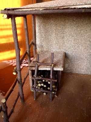 Fabriquer une cr che en bois guide pratique - Modele de creche de noel en bois ...