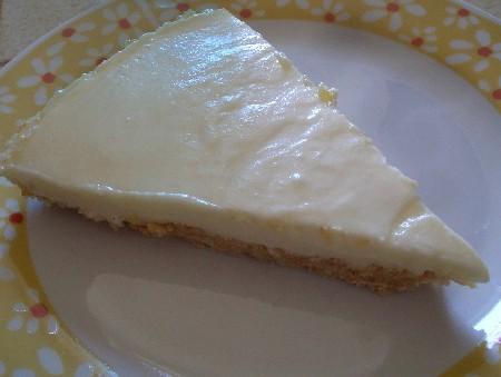 Le cheesecake au citron une recette rapide sans cuisson - Gouter rapide sans cuisson ...