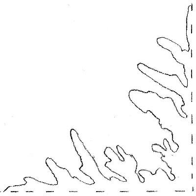 Faire des flocons de neige en papier mode d 39 emploi - Flocon de neige en papier a imprimer ...
