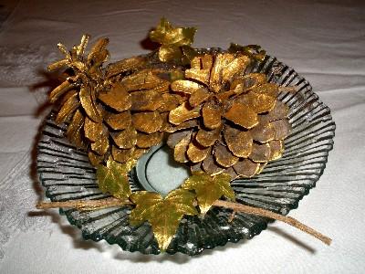 Décoration table de Noël