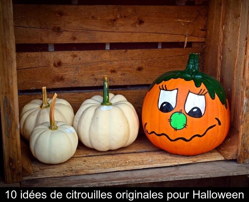10 Idées De Citrouilles Originales Pour Halloween