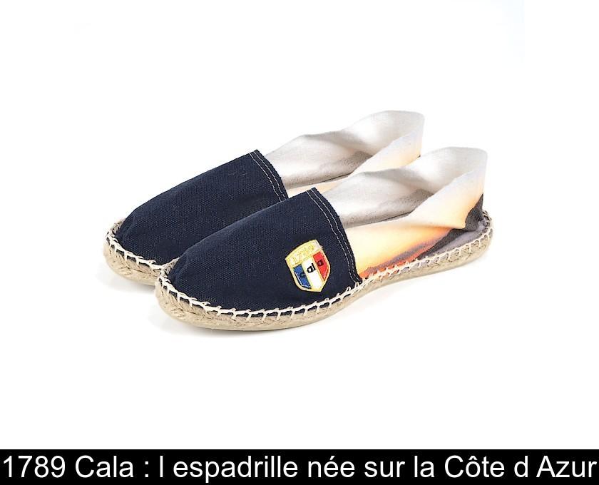 1789 Cala : l'espadrille née sur la Côte d'Azur