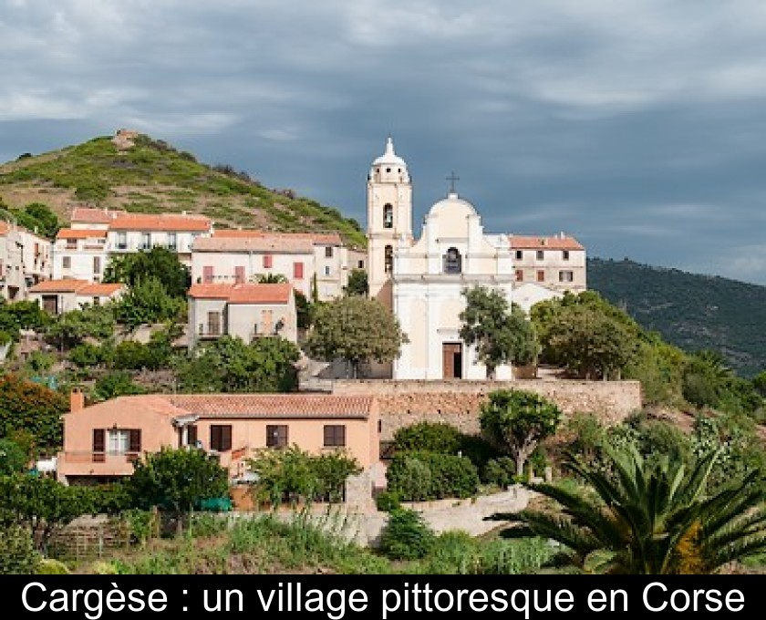 Cargèse : un village pittoresque en Corse