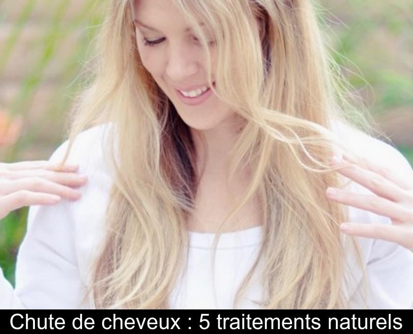 Chute de cheveux : 5 traitements naturels