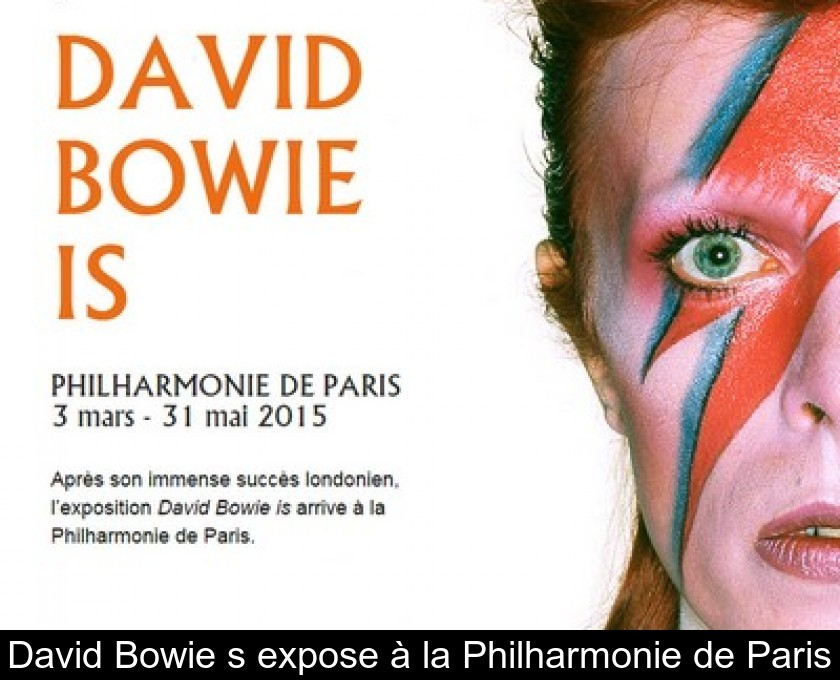 David Bowie s'expose à la Philharmonie de Paris
