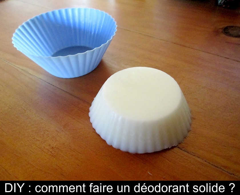 DIY : comment faire un déodorant solide ?