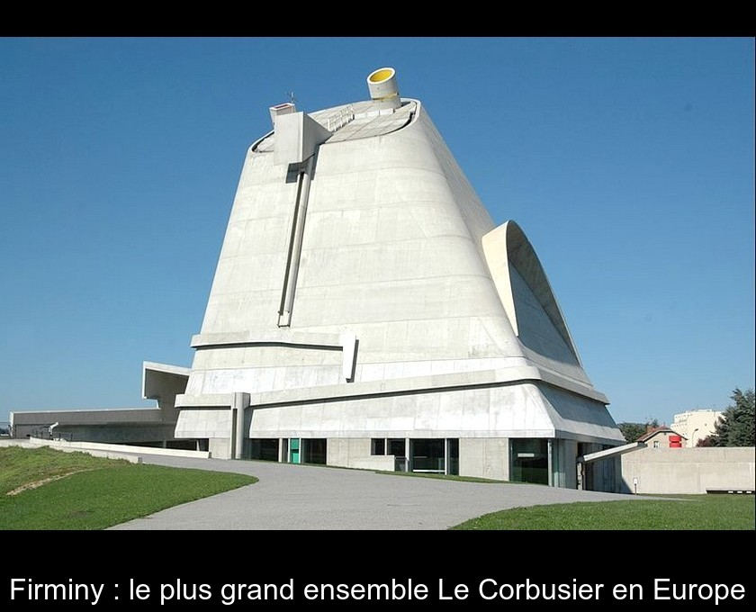 Firminy : le plus grand ensemble Le Corbusier en Europe