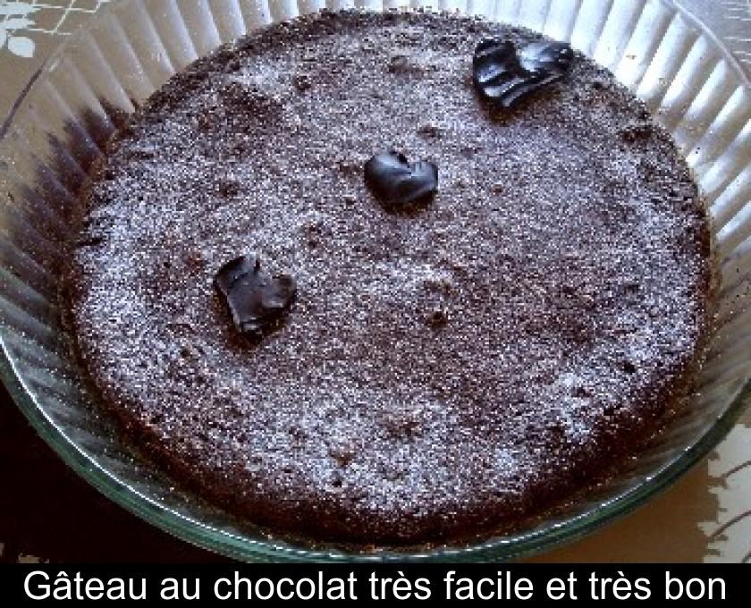 Gâteau Au Chocolat Très Facile Et Très Bon