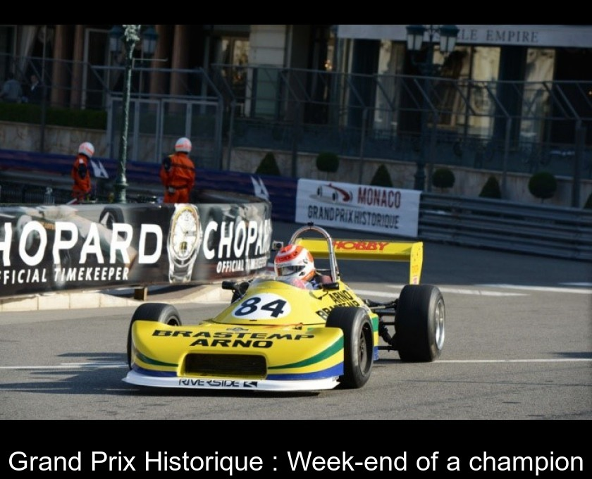 Grand Prix Historique : Week-end of a champion