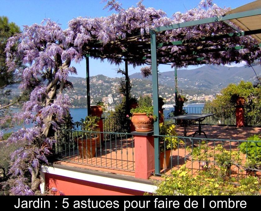 Jardin 5 Astuces Pour Faire De L Ombre