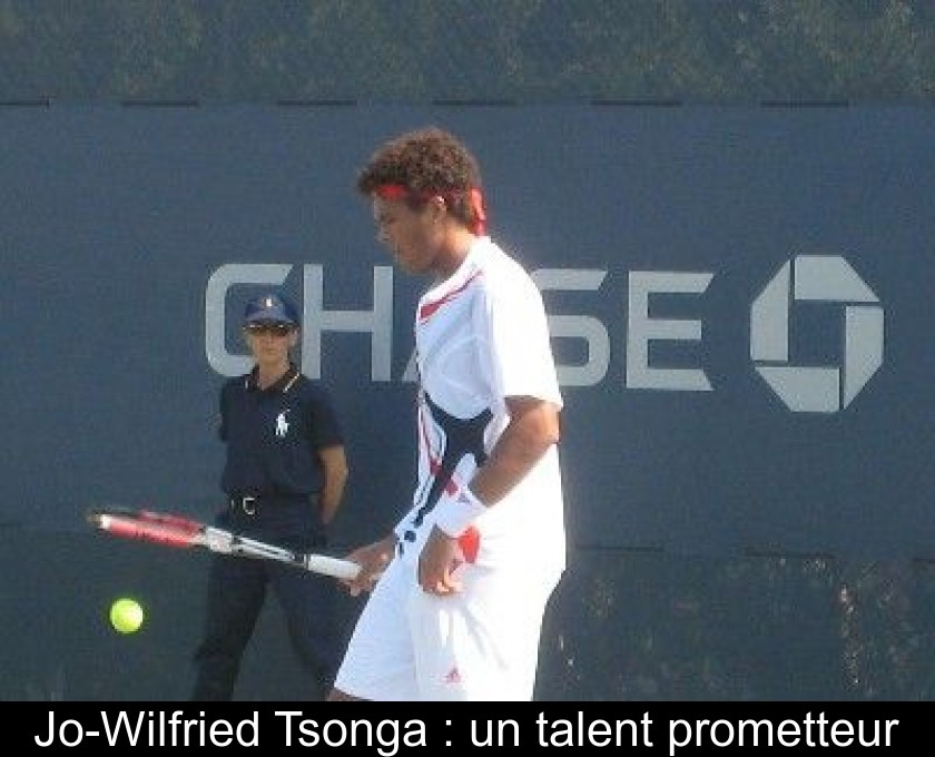 Jo-Wilfried Tsonga : un talent prometteur