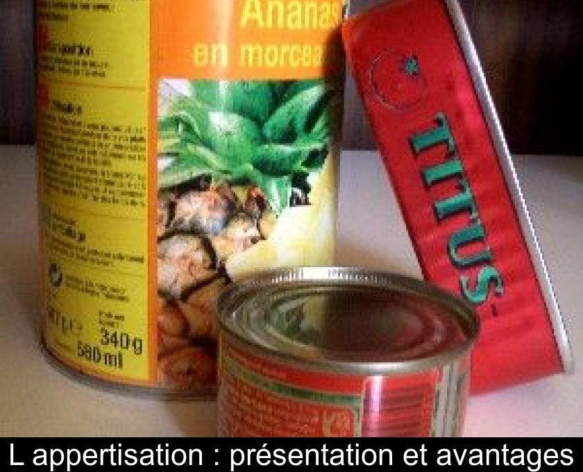 durée de conservation des aliments (1982)