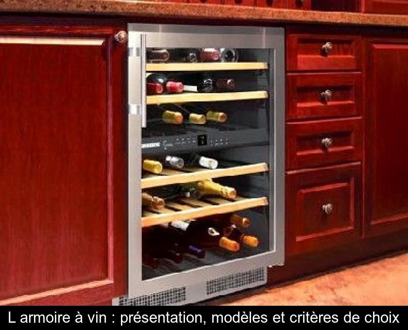 L Armoire A Vin Presentation Modeles Et Criteres De Choix
