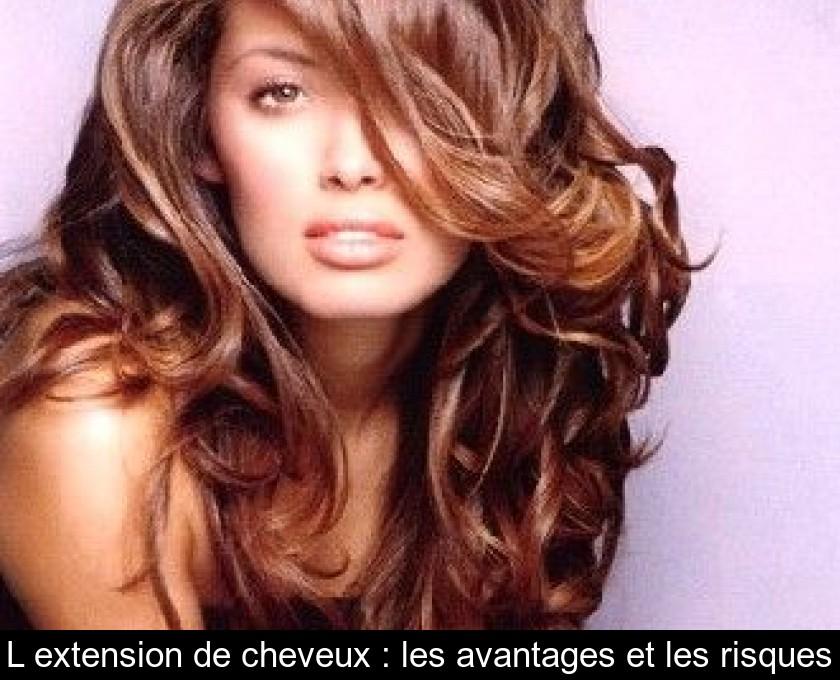 Coloration pour extension cheveux