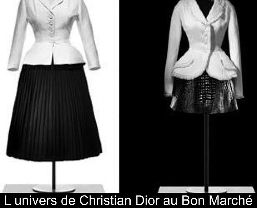 54a43aaec3 L'univers de Christian Dior au Bon Marché