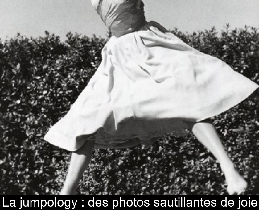 La jumpology : des photos sautillantes de joie