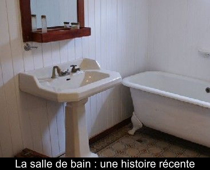 Captivant La Salle De Bain : Une Histoire Récente