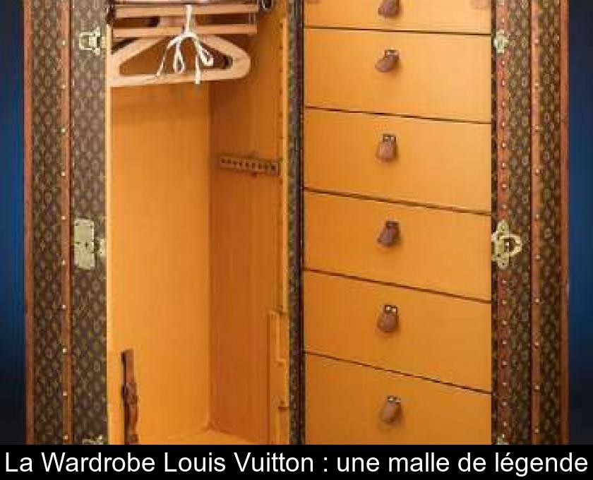 39f37d651c La Wardrobe Louis Vuitton : une malle de légende