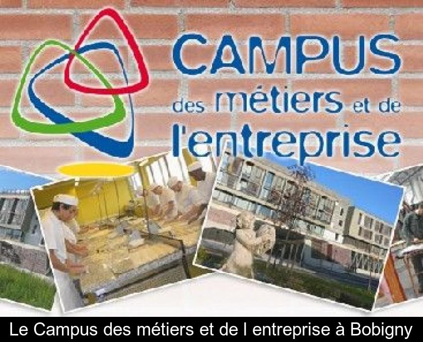 Le Campus Des Metiers Et De L Entreprise A Bobigny
